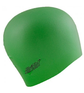 Czepek pływacki Allright silikonowy zielony