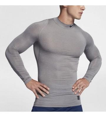 Koszulka termoaktywna Nike M NP TOP LS Comp MOCK M 838079-091