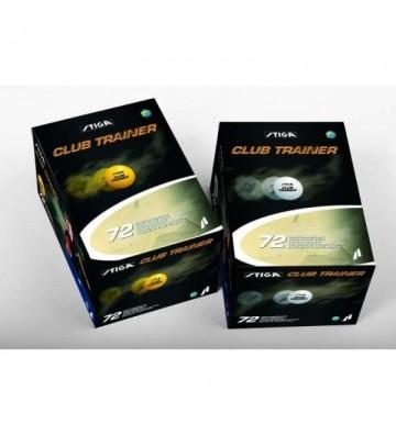 Piłeczki do tenisa stołowego STIGA Club Trainer 72szt pomarańczowe