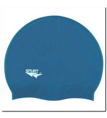 Czepek silikonowy SPURT F206 niebieski