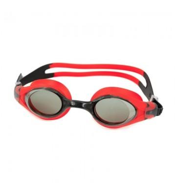 Okulary pływackie Aqua-Speed Beta czarno-czerwone