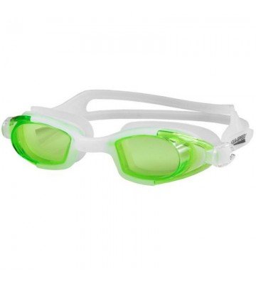 Okulary pływackie Aqua-Speed Marea biało-zielone