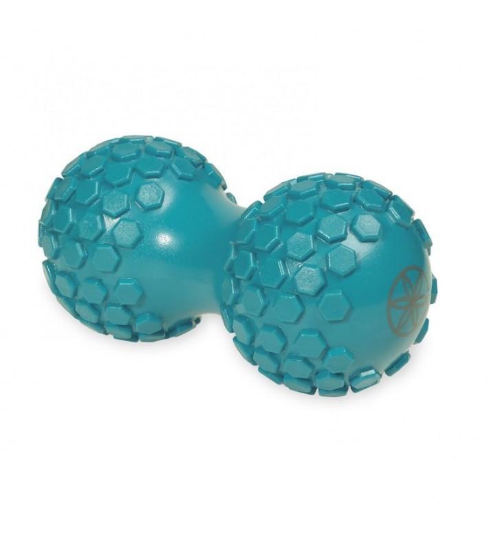 Piłka podwójna z wypustkami do masażu 61354