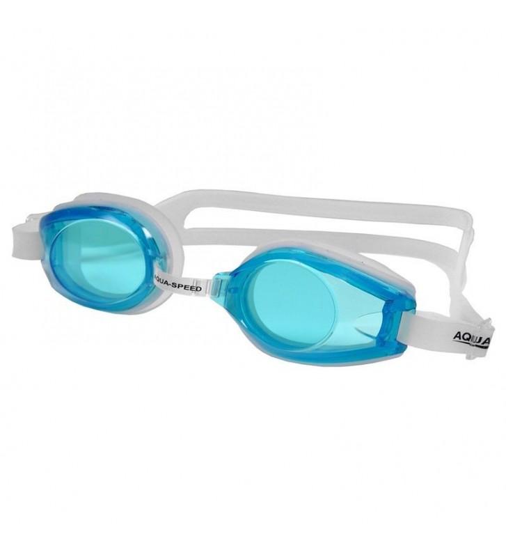 Okulary pływackie Aqua-Speed Avanti biało/niebieskie 29 /007