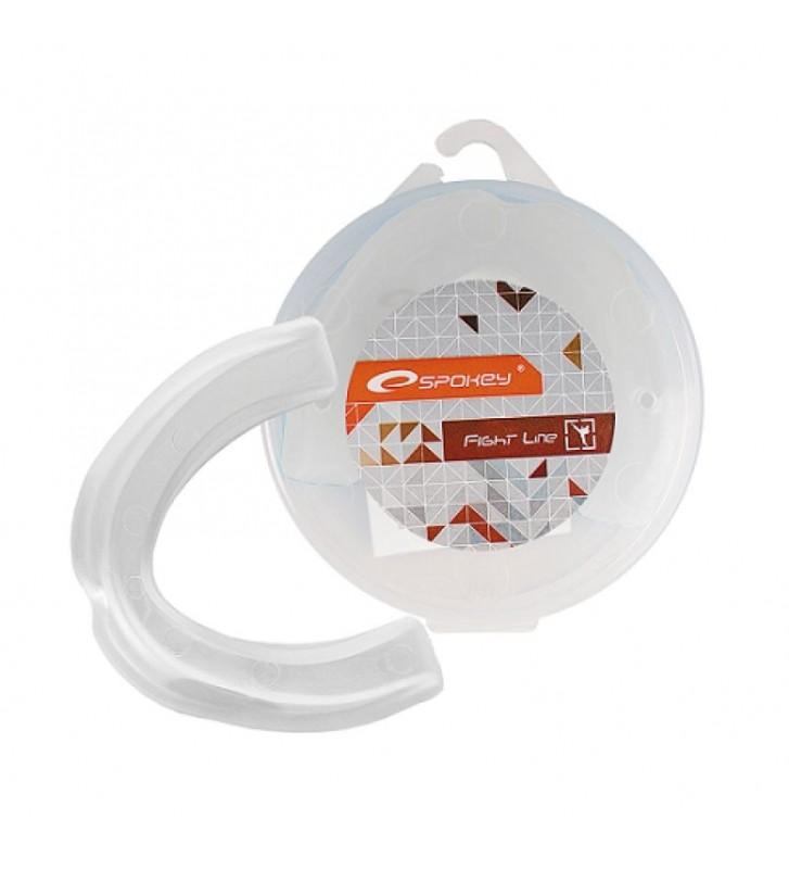 Ochraniacz szczęki pojedynczy Spokey  KEIGO II biały /830611