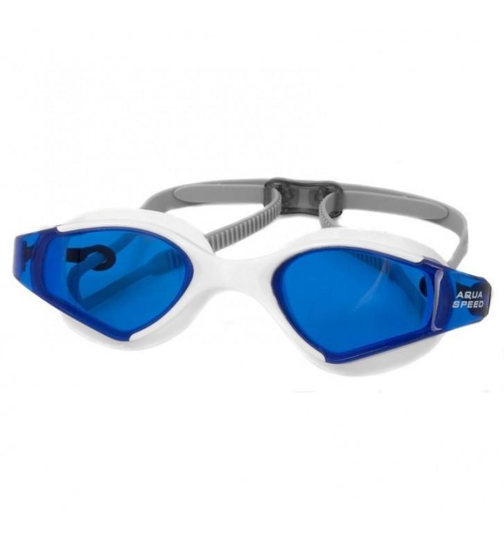 Okulary pływackie Aqua-Speed Blade biało/niebieskie 51/059
