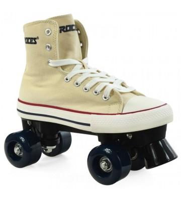 Wrotki Roces Chuck Classic Roller kremowe 550030 07