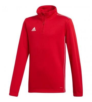 Bluza adidas CORE 18 TRAINING TOP czerwona JR CV4141