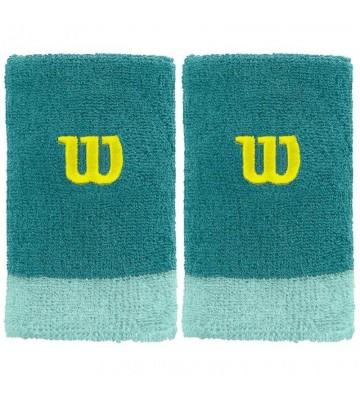 Frotka na rękę Wilson Extra Wide szeroka 2szt WRA733509