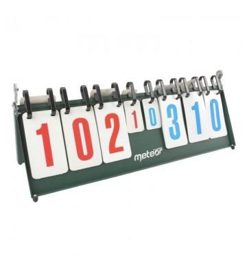 Tablica wyników do siatkówki, koszykówki i tenisa stołowego Meteor 16001