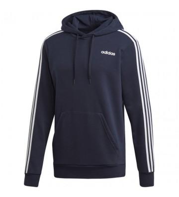 Bluza adidas Essentials 3 Stripes Pullover French Terry czarna M DU0499