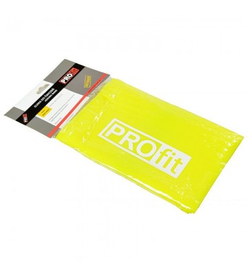 Guma fitness PROFIT LONG LIGHT 200x15x0,35cm żółta DK 2227