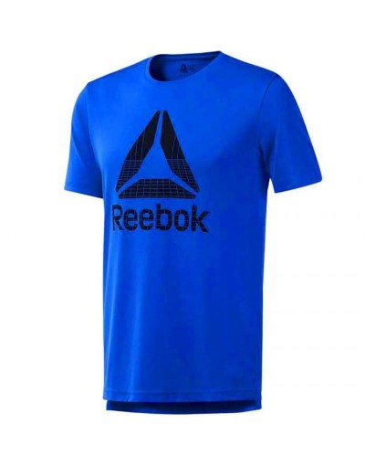 Koszulka treningowa Reebok Workout Graphic Tech Tee M DU2177