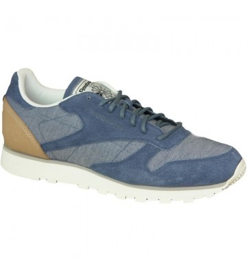 Buty Reebok CL Leather Fleck M AQ9722