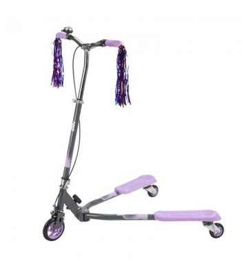 Hulajnoga Nils Extreme Purple Fliker FL125