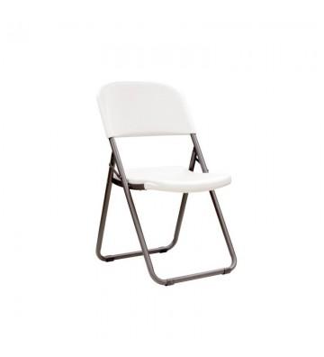 Półkomercyjne krzesło składane Loop Leg 80155
