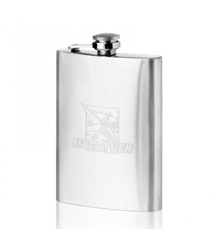 Piersiówka Macgyver stalowa 200 ML 102013