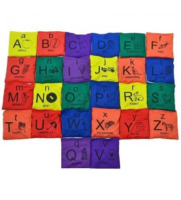Woreczki Gimnastyczne Smj Alfabet VEDB-AZ5X5 alfabet
