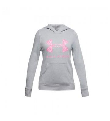 Bluza Under Armour Rival Fleece Sportstyle Graphic Hoodie Junior 1343622-011
