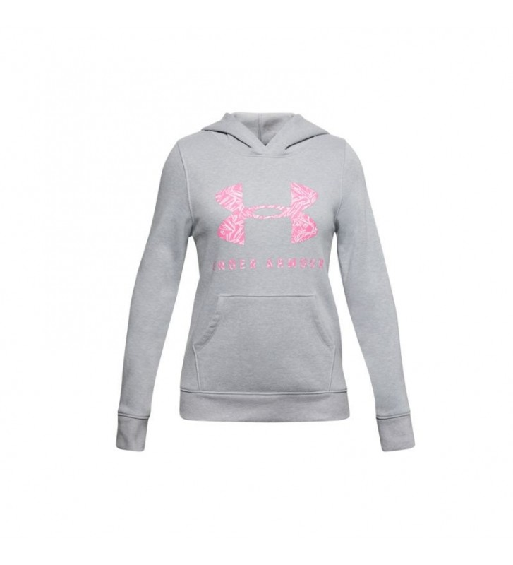 Bluza Under Armour Rival Fleece Sportstyle Graphic Hoodie Junior 1343622-011