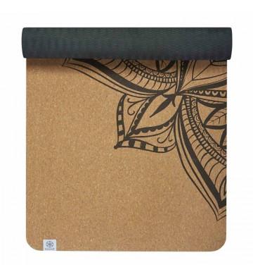 Mata do jogi Gaiam Printed Cork Mandala 5 mm 63495