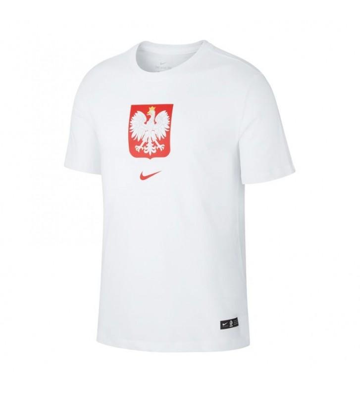 Koszulka Nike Polska Crest Jr CU1212-100