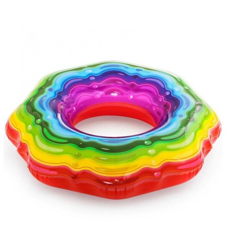 Koło do pływania Bestway Rainbow 115cm 36163 7463