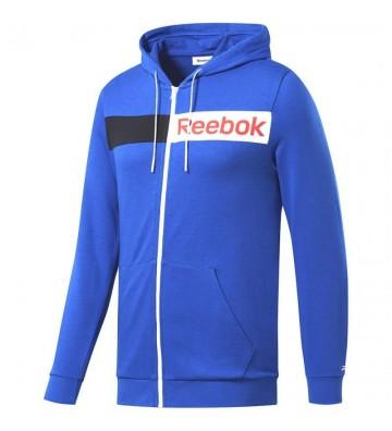 Bluza Reebok Logo FZ H M FK6117