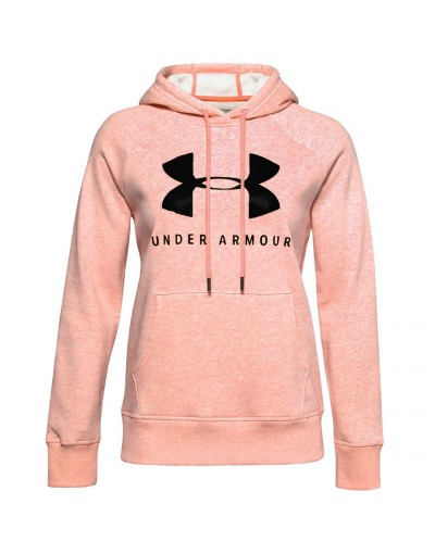 Bluza Under Armour Rival Fleece Graphic Hoodie W 1348550 689