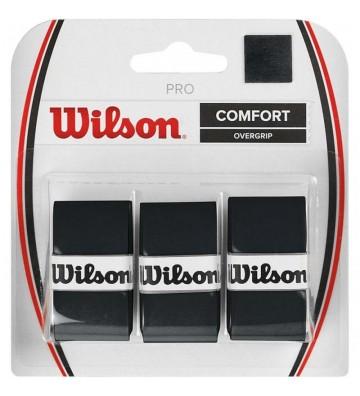 Owijka Wilson Pro Comfort Overgrip czarne WRZ4014BK