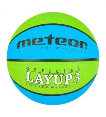 Piłka do koszykówki Meteor Layup 3 7049