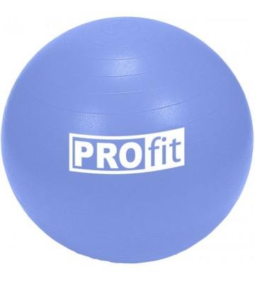 Piłka gimnastyczna PROfit  85cm niebieska z pompką DK2102
