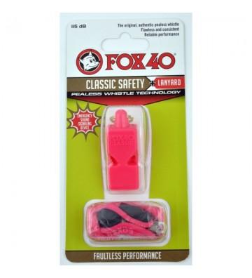 Gwizdek FOX Classic + sznurek 9903-0408 różowy