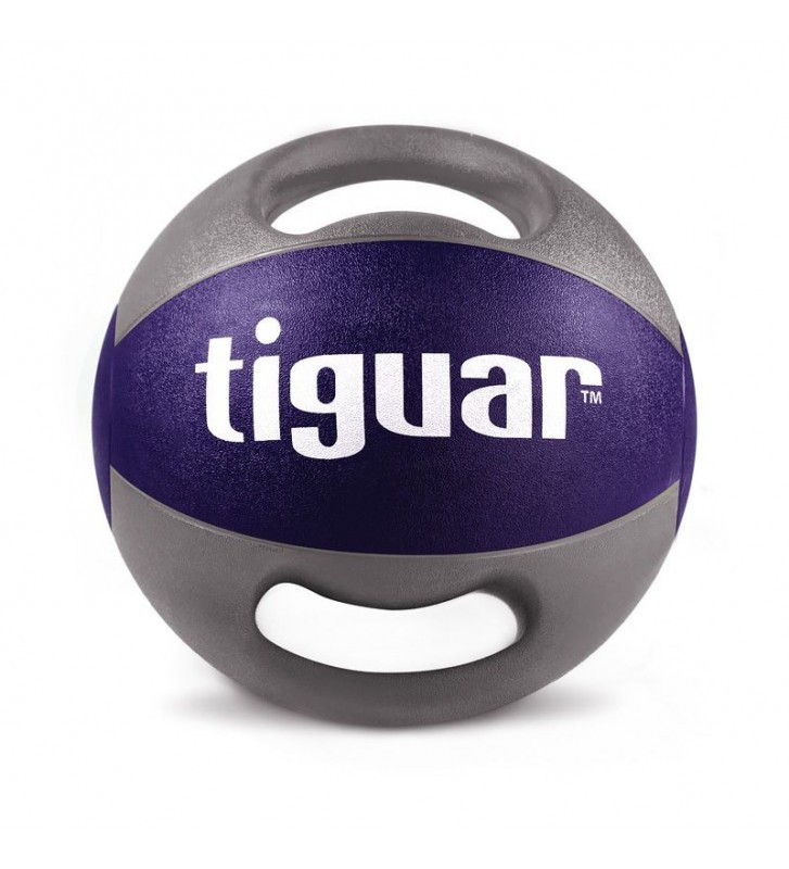Piłka lekarska z uchwytami tiguar 10 kg TI-PLU010
