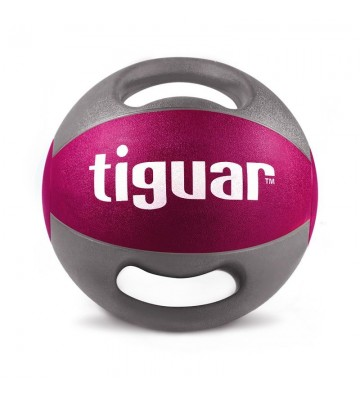 Piłka lekarska z uchwytami tiguar  5 kg TI-PLU005