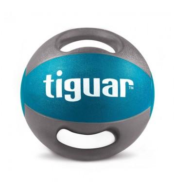 Piłka lekarska z uchwytami tiguar 6 kg TI-PLU006