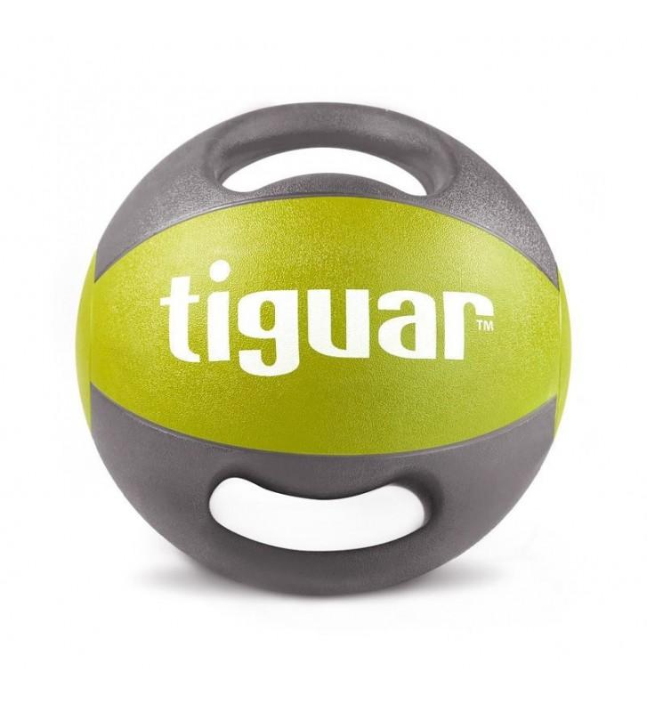 Piłka lekarska z uchwytami tiguar 7 kg TI-PLU007