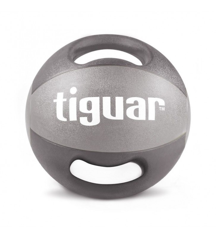 Piłka lekarska z uchwytami tiguar 8 kg TI-PLU008