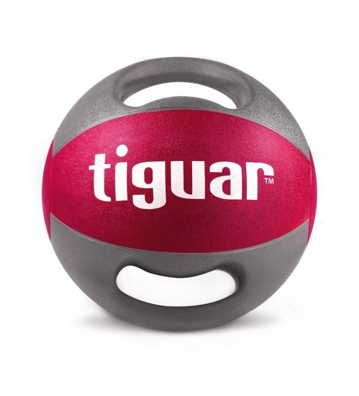 Piłka lekarska z uchwytami tiguar 9 kg TI-PLU009