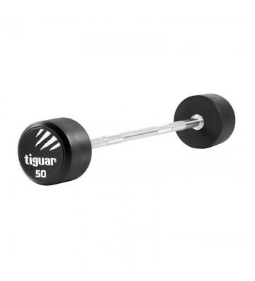 Barbell prosty tiguar PU 50 kg TI-WPBPU050