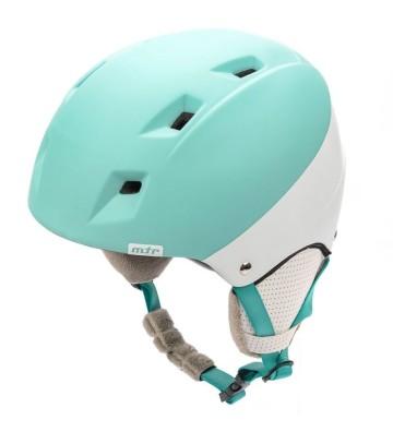 Kask narciarski Meteor Kiona jasnoniebieski/biały 24857