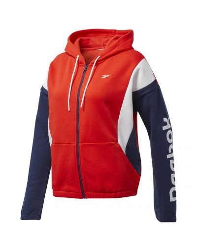 Bluza Reebok Training Essentials Linear Logo FL Fullzip W FT0904