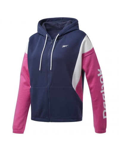 Bluza Reebok Training Essentials Linear Logo FL Fullzip W FU2249
