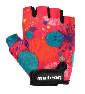 Rękawiczki rowerowe Meteor Jr 26160-26162
