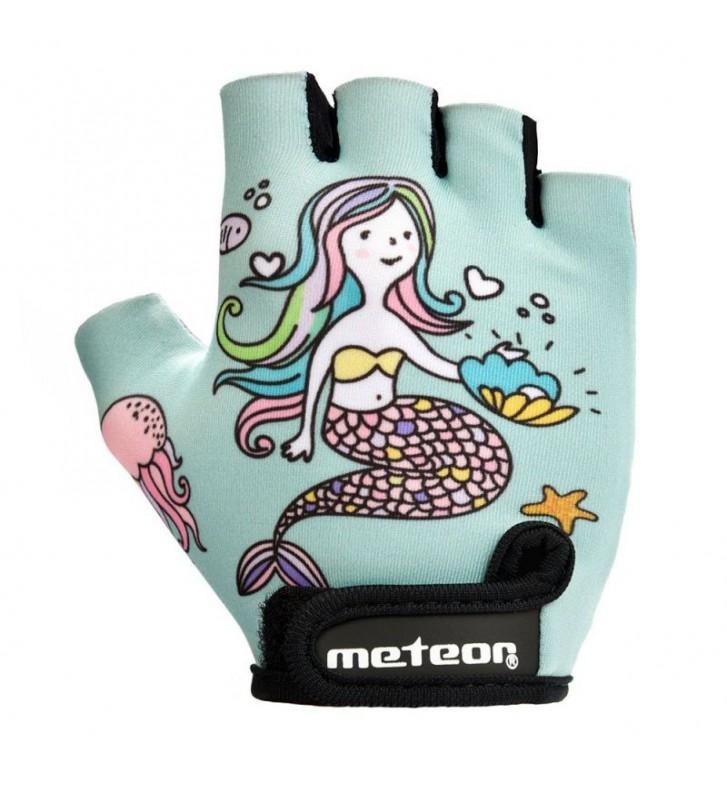 Rękawiczki rowerowe Meteor Jr 26169-26171