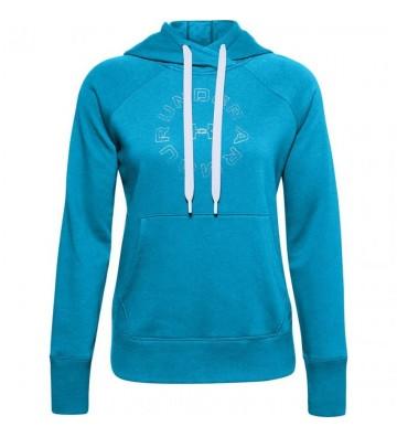 Bluza Under Armour Rival Fleece Metallic Hoodie W 1356323 417