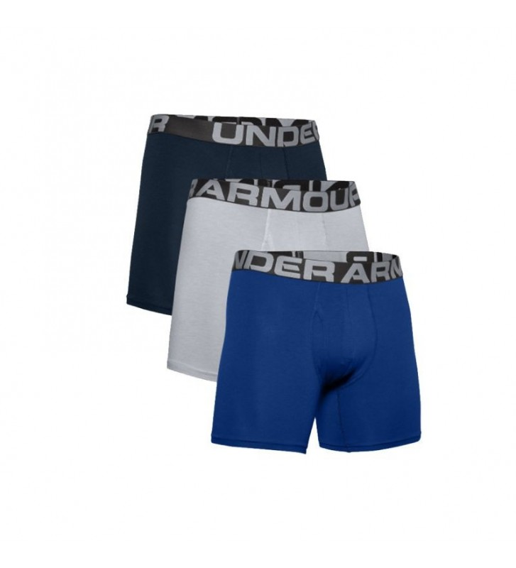 Bielizna Under Armour Charged Cotton 6IN 3 Pack 1363617-400