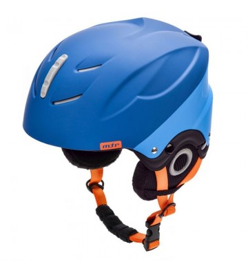 Kask narciarski Meteor Lumi granatowy/niebieski 24867-24869