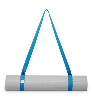 Pasek na matę do jogi Gaiam niebieski 61711BL