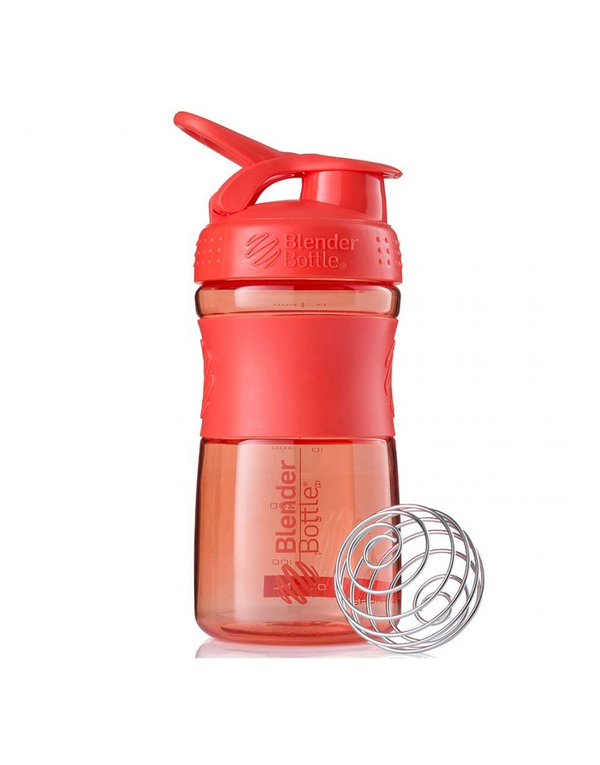 Bidon Blender Bottle SportMixer 500 ml koralowy 500006